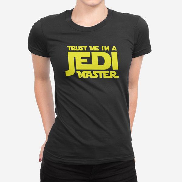 Ženska kratka majica Jedi Master