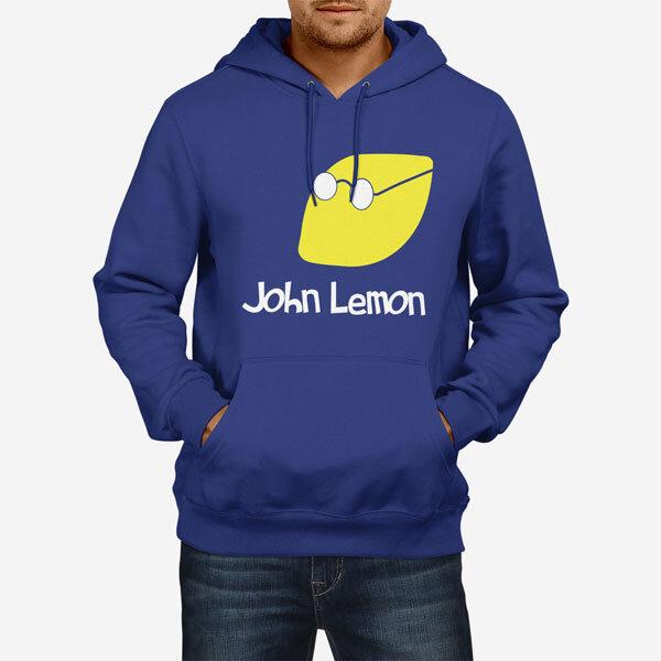 Moški pulover s kapuco John Lemon