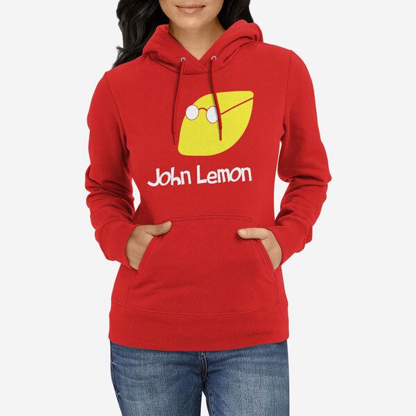 Ženski pulover s kapuco John Lemon