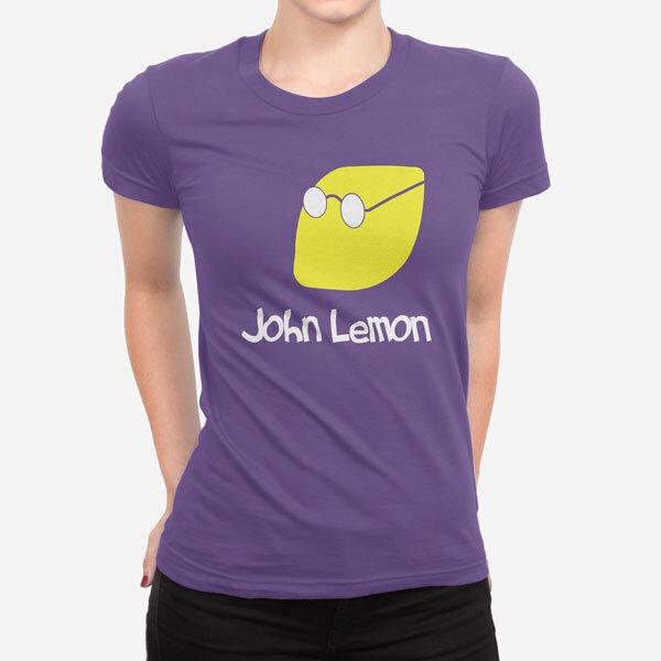 Ženska kratka majica John Lemon