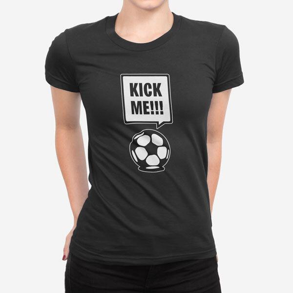 Ženska kratka majica Kick Me
