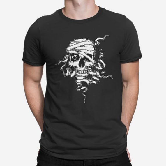 Moška kratka majica Lobanja Mumija