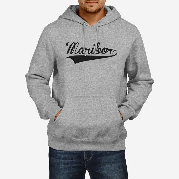 Moški pulover s kapuco Maribor