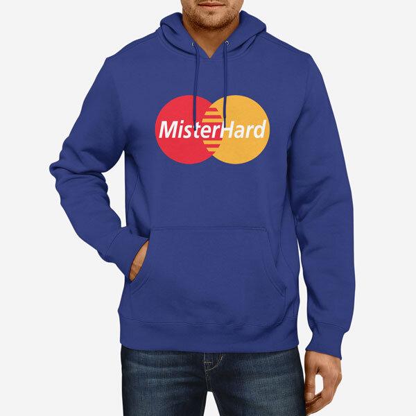 Moški pulover s kapuco MisterHard