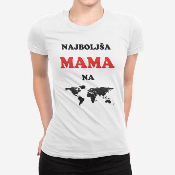 Ženska kratka majica Najboljša mama na svetu