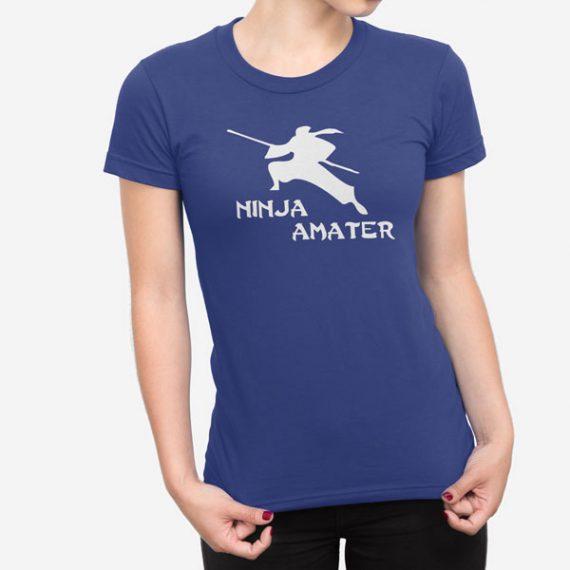 Ženska kratka majica Ninja amater