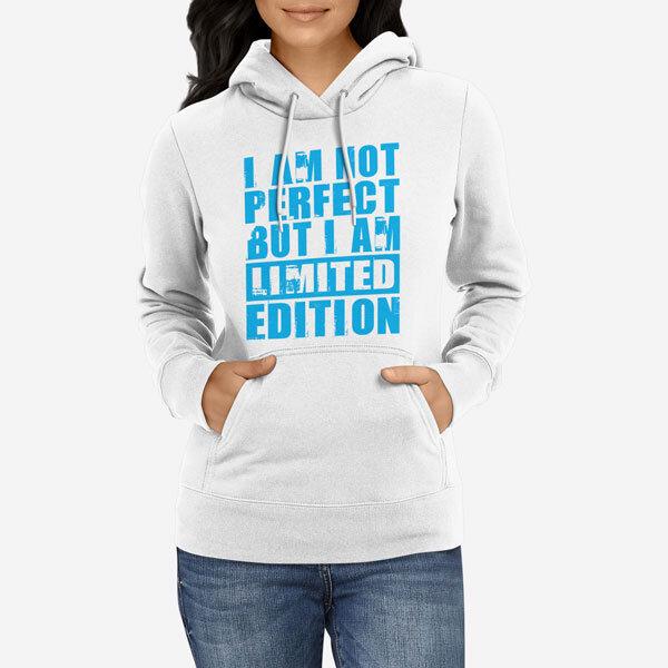 Ženski pulover s kapuco Not Perfect