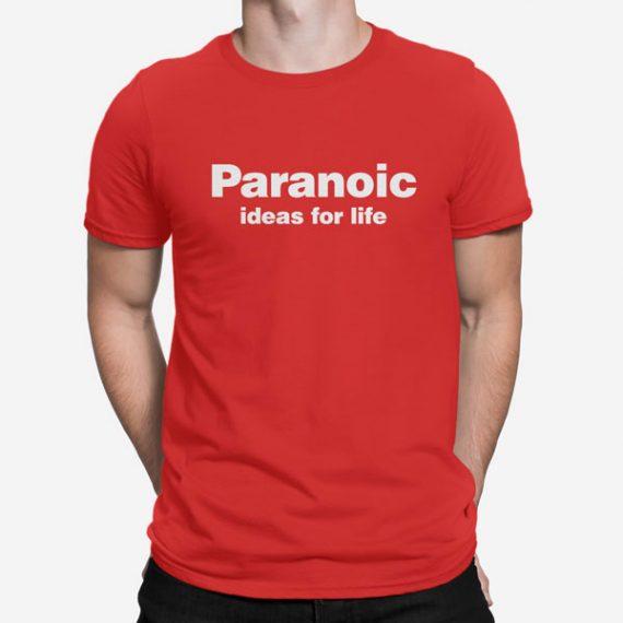 Moška kratka majica Paranoic