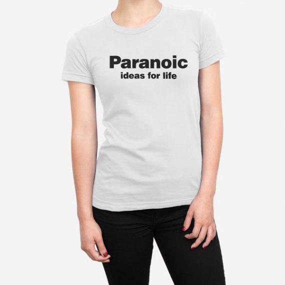 Ženska kratka majica Paranoic