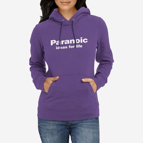 Ženski pulover s kapuco Paranoic