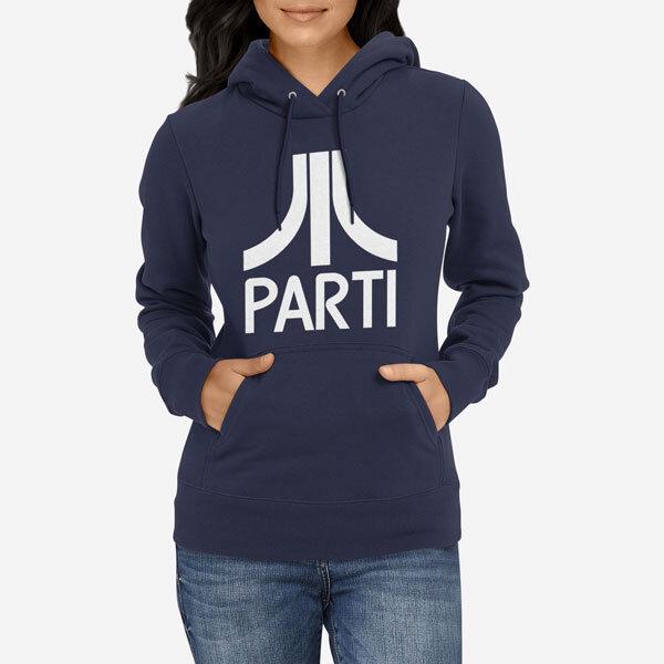 Ženski pulover s kapuco Parti