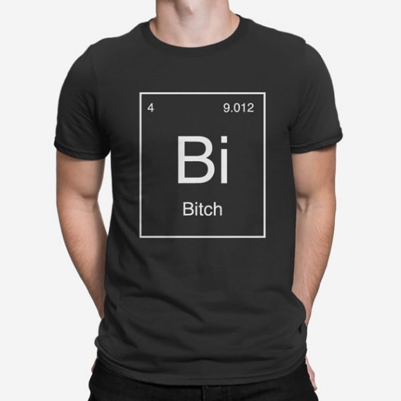 Moška kratka majica Periodni element Bi