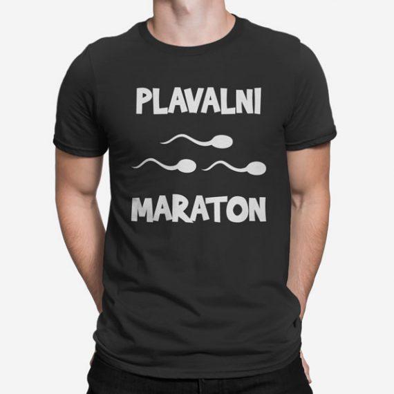 Moška kratka majica Plavalni Maraton