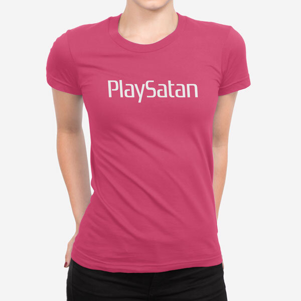 Ženska kratka majica PlaySatan