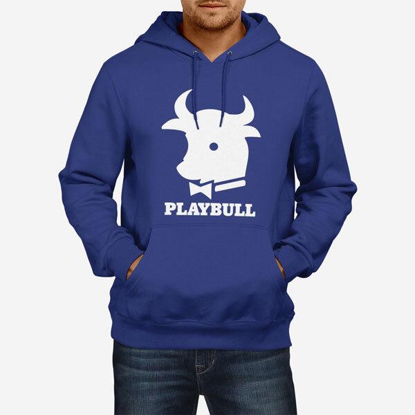 Moški pulover s kapuco Playbull