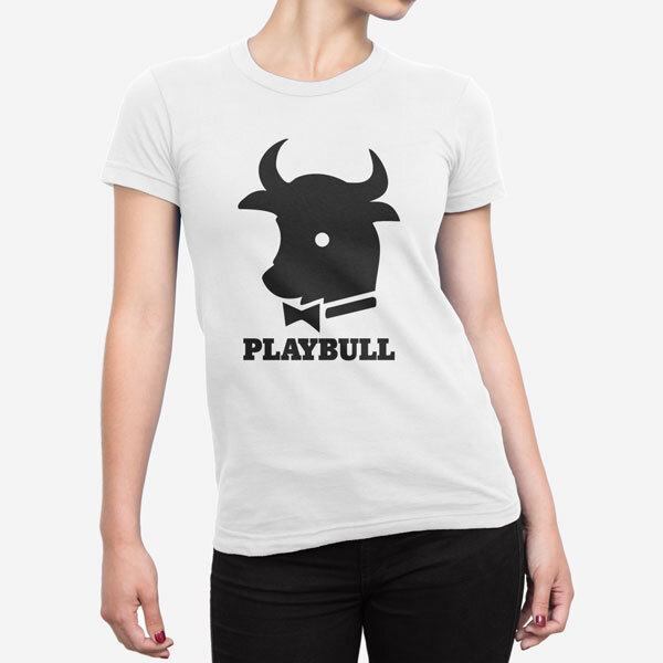 Ženska kratka majica Playbull