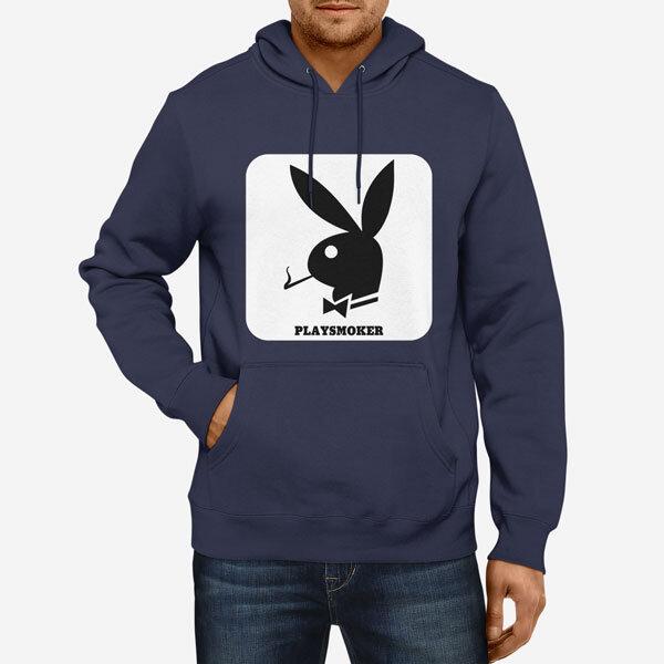 Moški pulover s kapuco PlaySmoker