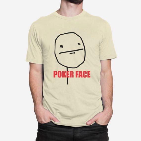 Moška kratka majica Poker Face