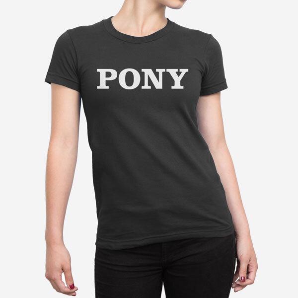 Ženska kratka majica Pony
