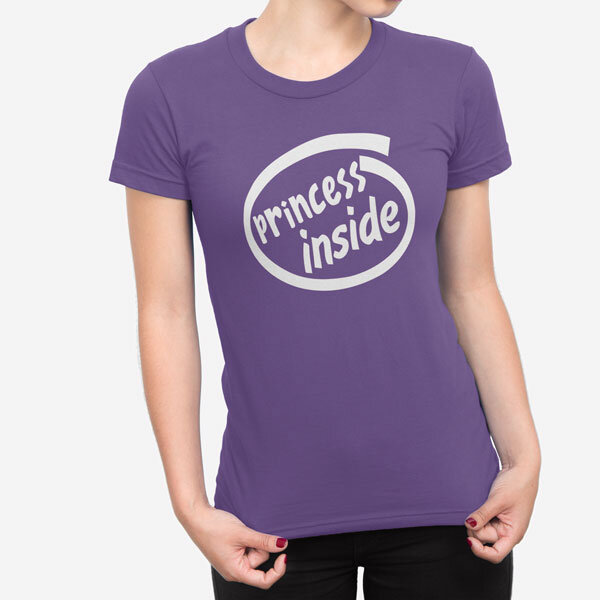 Ženska kratka majica Princess Inside