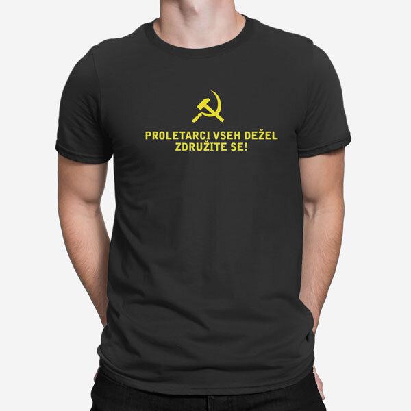 Moška kratka majica Proletarci