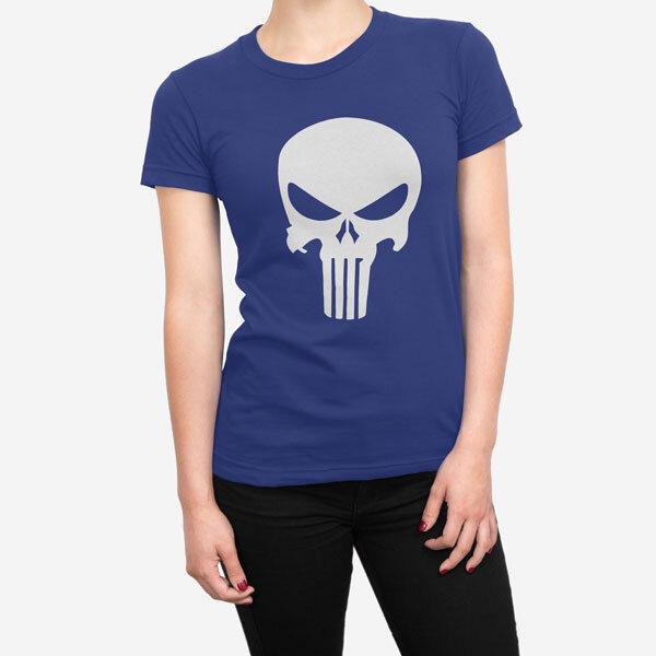Ženska kratka majica Punisher