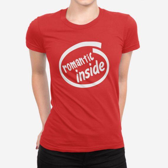 Ženska kratka majica Romantic Inside