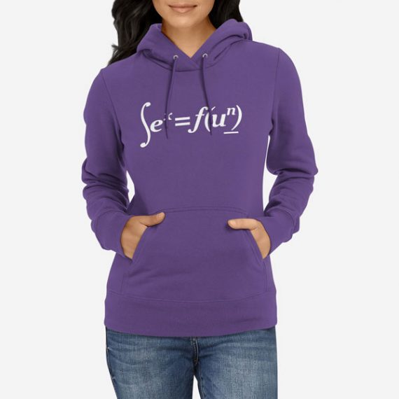 Ženski pulover s kapuco Sex formula