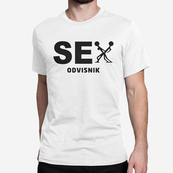 Moška kratka majica Sex Odvisnik