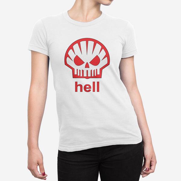 Ženska kratka majica Shell Hell