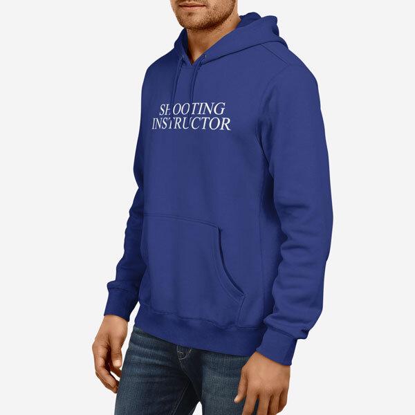 Moški pulover s kapuco Shooting Instructor