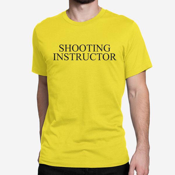 Moška kratka majica Shooting Instructor