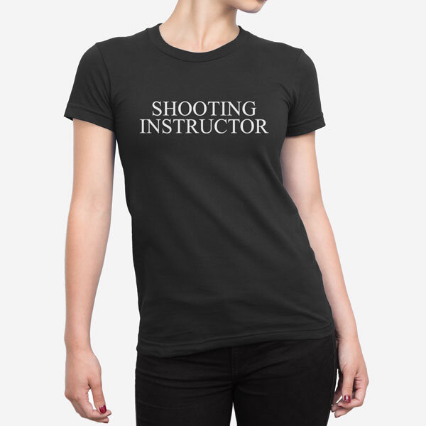 Ženska kratka majica Shooting Instructor