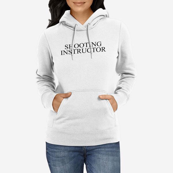 Ženski pulover s kapuco Shooting Instructor
