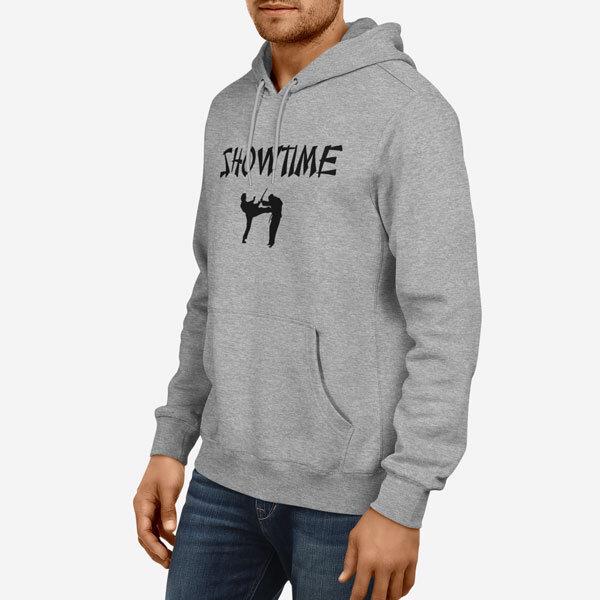 Moški pulover s kapuco Show Time