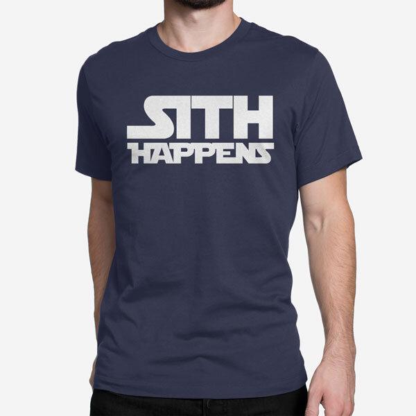 Moška kratka majica Sith Happens