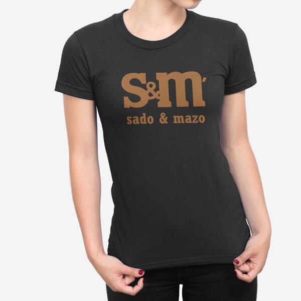 Ženska kratka majica Sado Mazo
