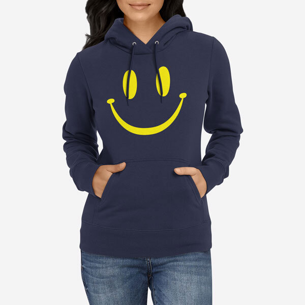 Ženski pulover s kapuco Smile