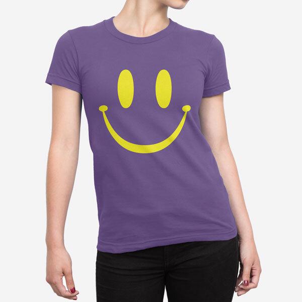 Ženska kratka majica Smile