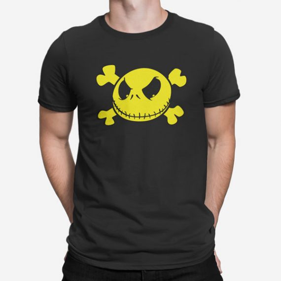 Moška kratka majica Smiley lobanja