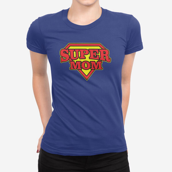 Ženska kratka majica Super Mom