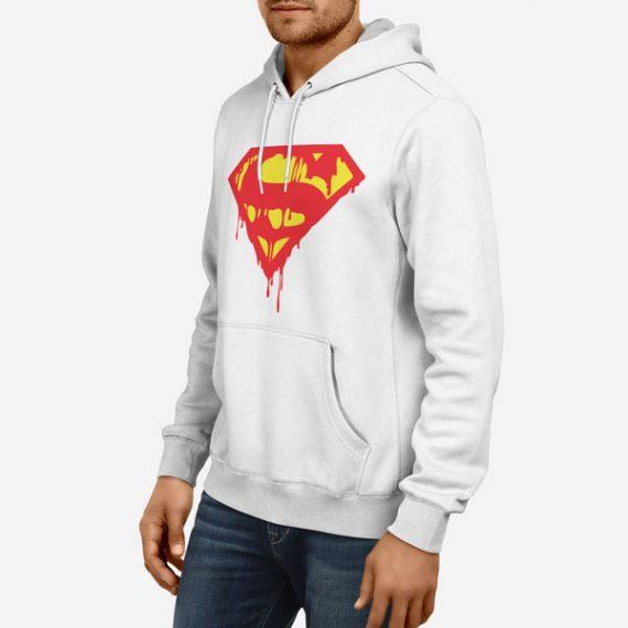 Moški pulover s kapuco Superblood
