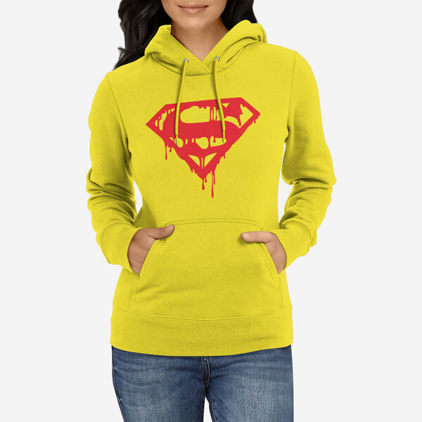 Ženski pulover s kapuco Superblood