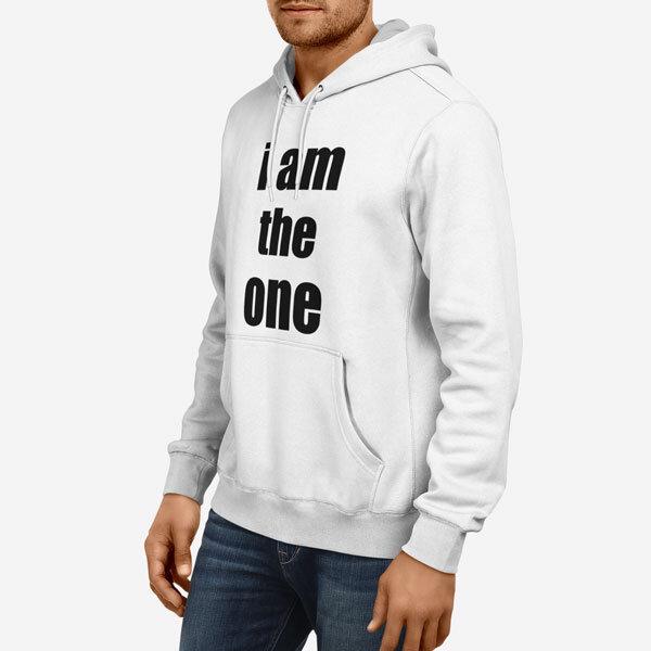 Moški pulover s kapuco The One