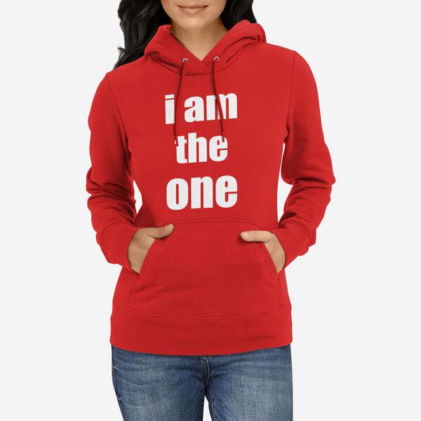 Ženski pulover s kapuco The One
