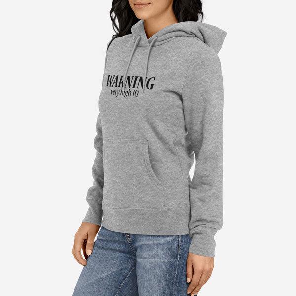 Ženski pulover s kapuco Warning IQ