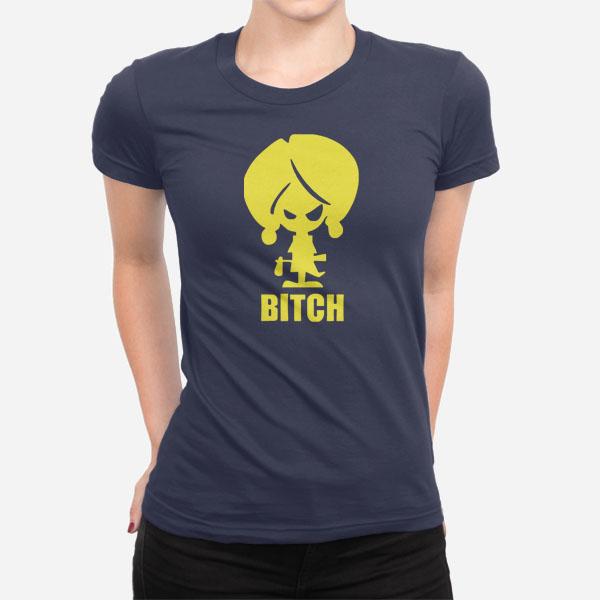 Ženska kratka majica Little Bitch