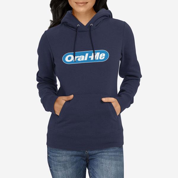 Ženski pulover s kapuco Oral me