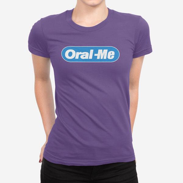 Ženska kratka majica Oral me