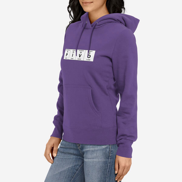Ženski pulover s kapuco Periodni element Pivo